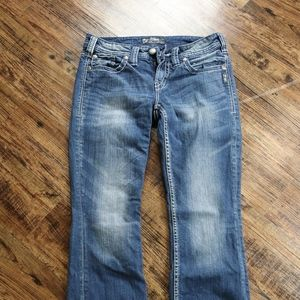 Silver Jeans - Aiko Bootcut distressed, 29/31